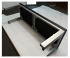 Built-in Massage bed made in aluminum